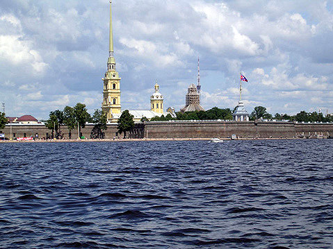 World Travel Photos :: The most famous buildings  :: St. Petersburg. Peter and Paul Fortress