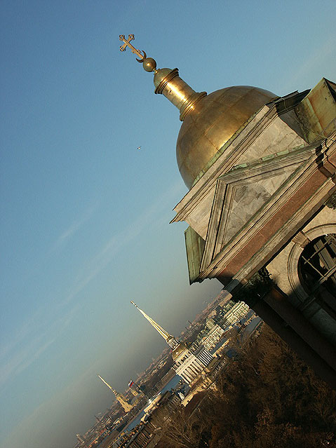 World Travel Photos :: Religious buildings :: St. Petersburg. View from the Roof of Saint Isaac´s Cathedral