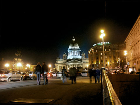 World Travel Photos :: Russia - St. Petersburg :: St. Petersburg. View on Isaky Square