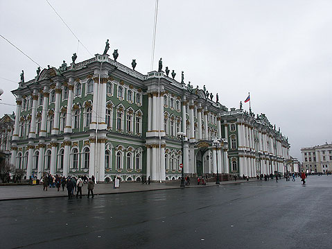 World Travel Photos :: Russia - St. Petersburg :: St. Petersburg. Winter Palace