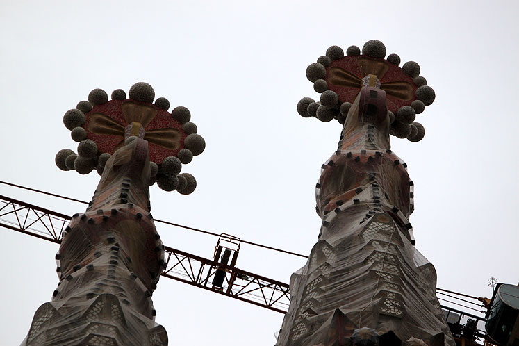 World Travel Photos :: Spain - Barcelona :: Barcelona. Fragments of Sagrada Família