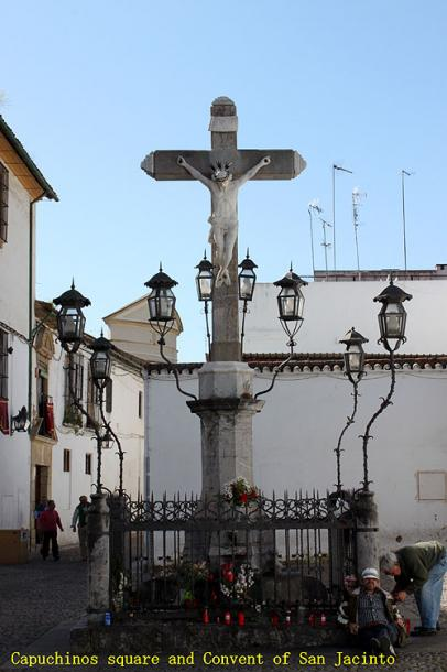 World Travel Photos :: Spain - Cordoba :: Cordoba. Capuchinos square and convent of San Jacinto