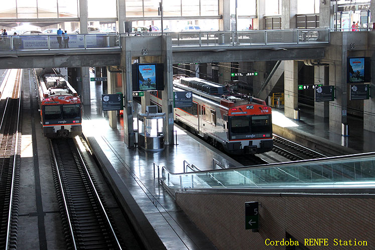 World Travel Photos :: Spain - Cordoba :: Cordoba RENFE station