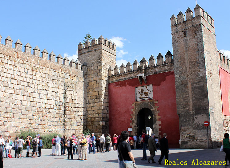 World Travel Photos :: Ancient world :: Seville. Alcázar of Seville (Reales Alcazares)
