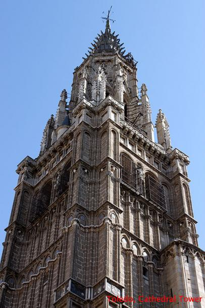 World Travel Photos :: Spain - Toledo :: Toledo - Cathedral Tower