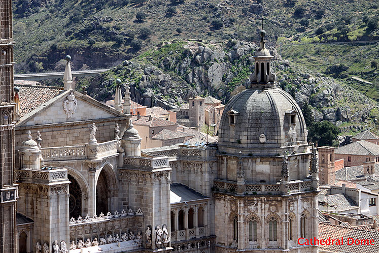 World Travel Photos :: Spain - Toledo :: Toledo. Cathedral dome