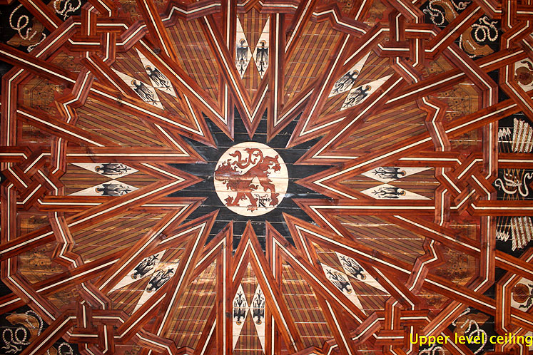 World Travel Photos :: Spain - Toledo :: Toledo. San Juan de los Reyes monastery - upper level ceiling