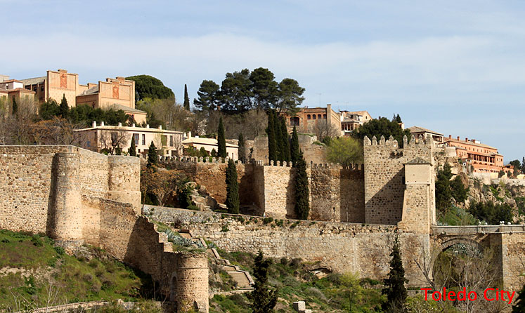 World Travel Photos :: Ancient world :: Old walls of Toledo