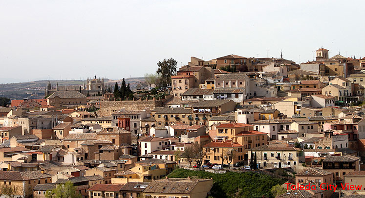 World Travel Photos :: Spain - Toledo :: Toledo - city view