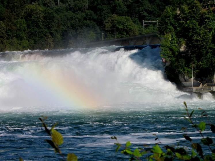 World Travel Photos :: Waterfalls :: Switzerland. Rhine Falls
