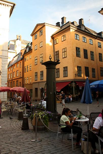 World Travel Photos :: Sweden - Stockholm :: Stockholm. A small square in Gamla stan