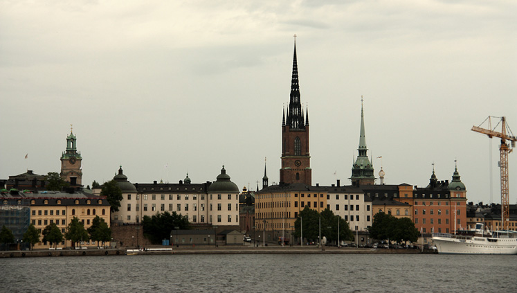 World Travel Photos :: Capitals of the world :: Stockholm - a silhouette of the old city