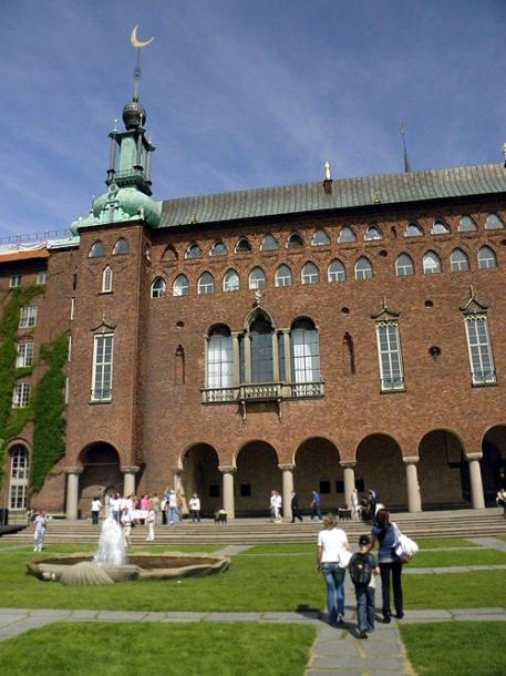 World Travel Photos :: Sweden - Stockholm :: Stockholm - a city hall