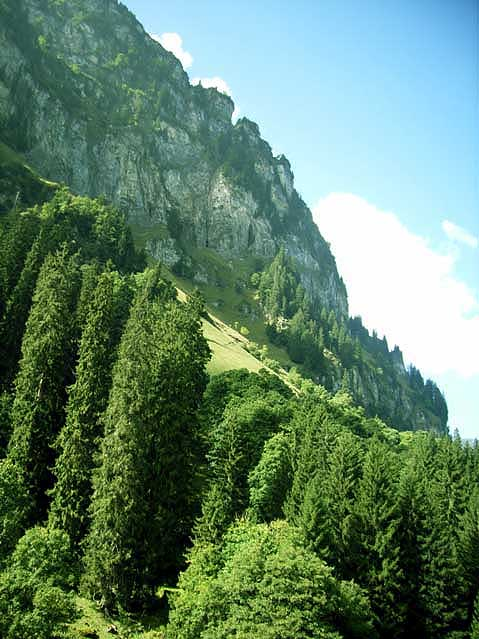 World Travel Photos :: Mountains :: Switzerland. Engelberg. Mount Titlis