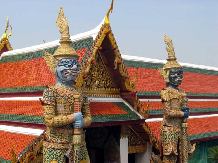 World Travel Photos :: Monuments & sculpture compositions :: Bangkok