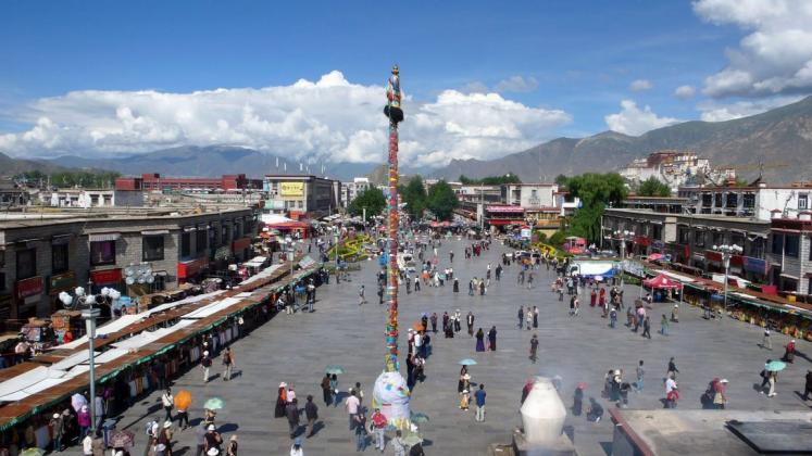 World Travel Photos :: Capitals of the world :: Lhasa. Barkhor - Jokhang