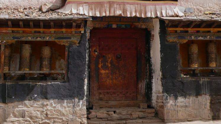 World Travel Photos :: Tibet :: Gyantse. Pelkor Chode Monastery (Palcho Monastery)