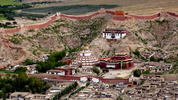 World Travel Photos :: Tibet :: Gyantse. Pelkor Chode Monastery (Palcho Monastery )