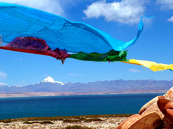 World Travel Photos :: Serenity :: Namtso Lake Overview, Tibet Namtso Lake Highlight Travel