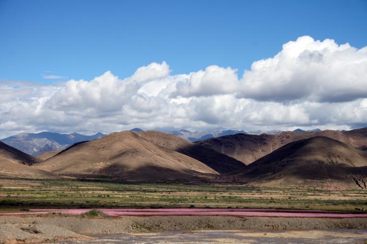 World Travel Photos :: Tibet :: Scenery along the Lhasa-Shigatse Railway Tibet