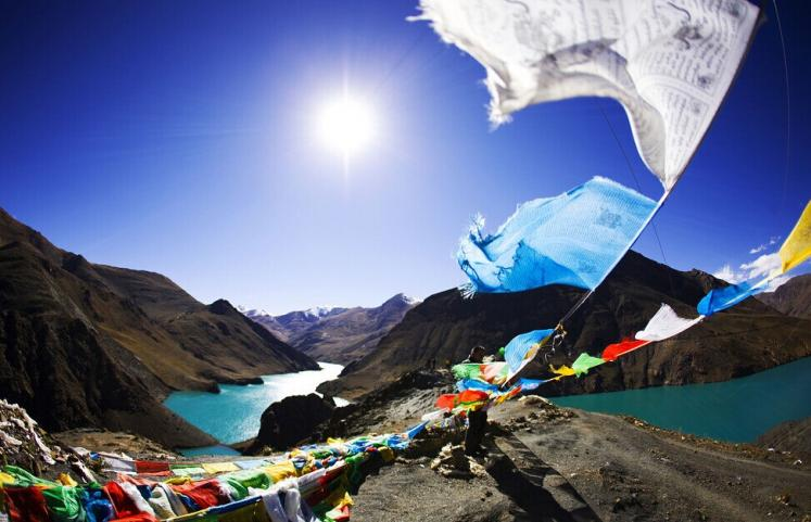 World Travel Photos :: Tibet :: Incredibly beautiful landscape in Tibet