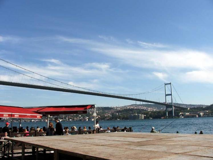 World Travel Photos :: Turkey - Istanbul :: Istanbul. Bosporus Bridge