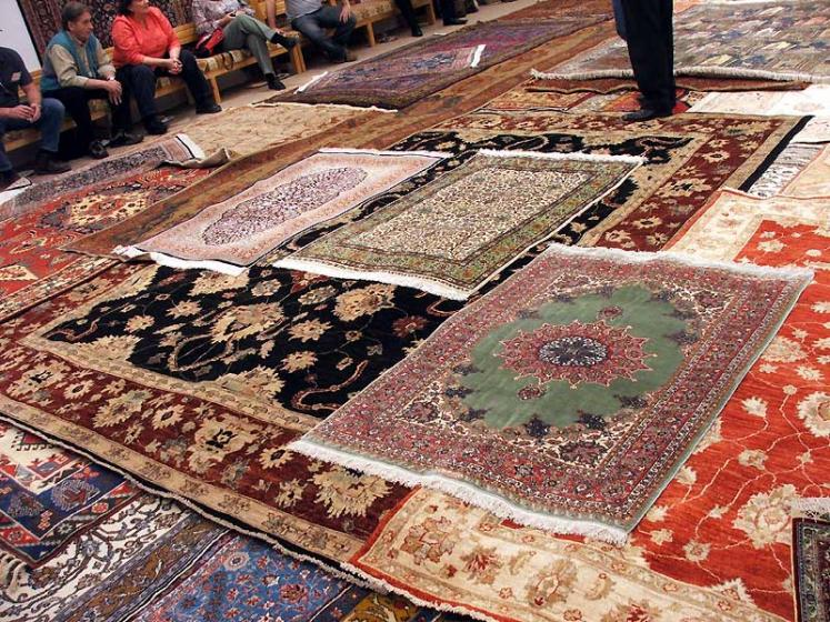 World Travel Photos :: Phyllis :: Turkey. Carpet factory