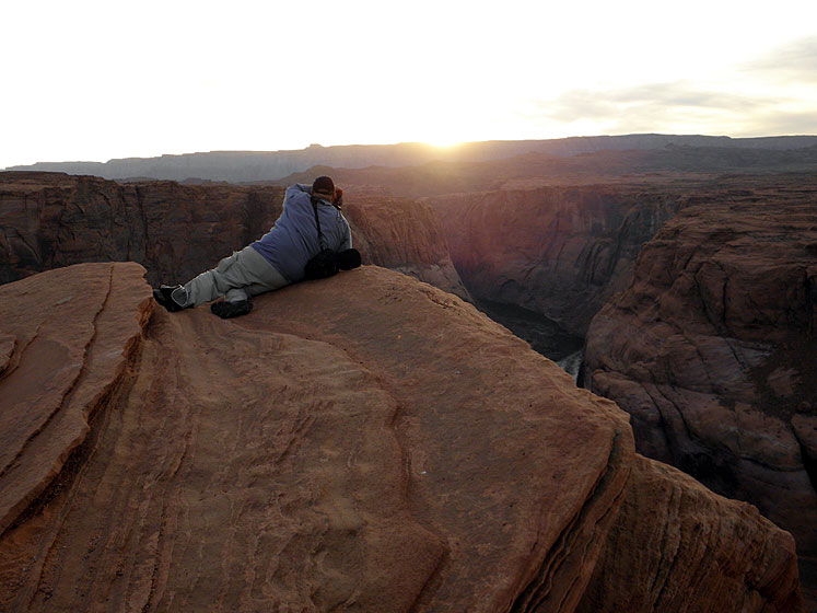World Travel Photos :: Sunset Hunters :: Arizona. Horseshoe Bend - a sunset