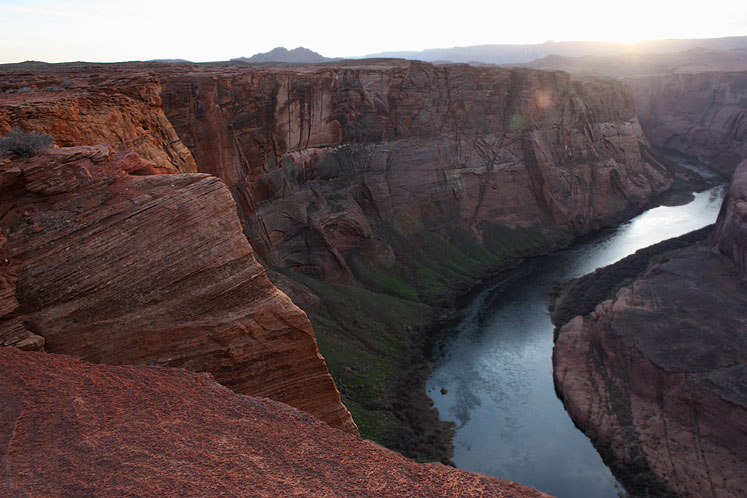 World Travel Photos :: Inspirational places :: Arizona. Horseshoe Bend - a partial view
