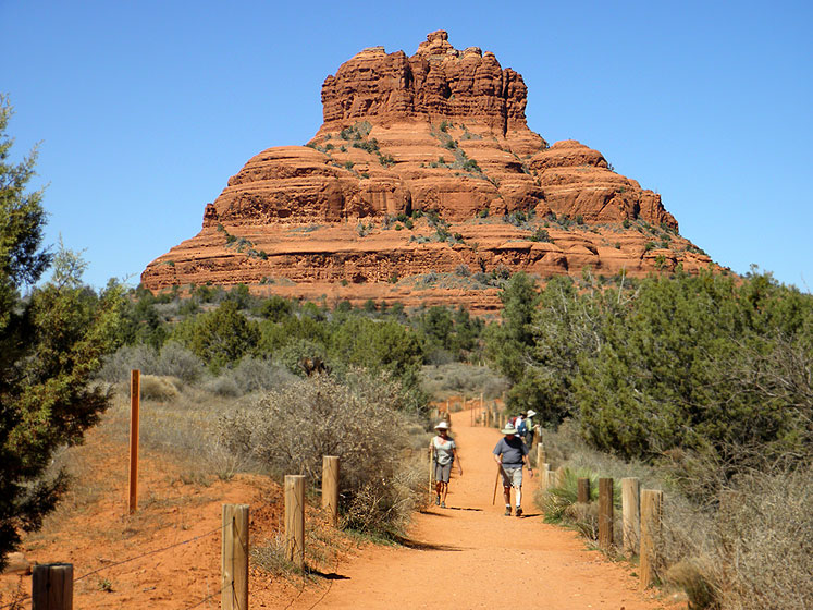 World Travel Photos :: Mountains :: Sedona - Bell Rock