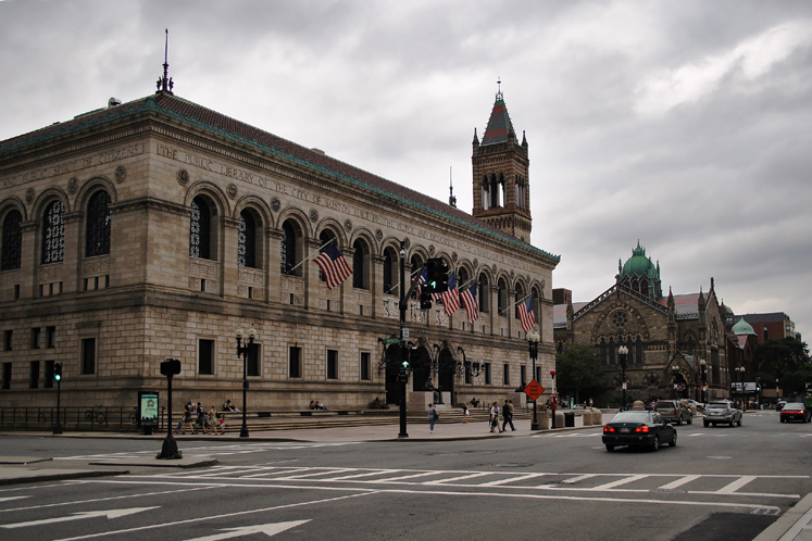 World Travel Photos :: Larisa :: Boston Public Library building