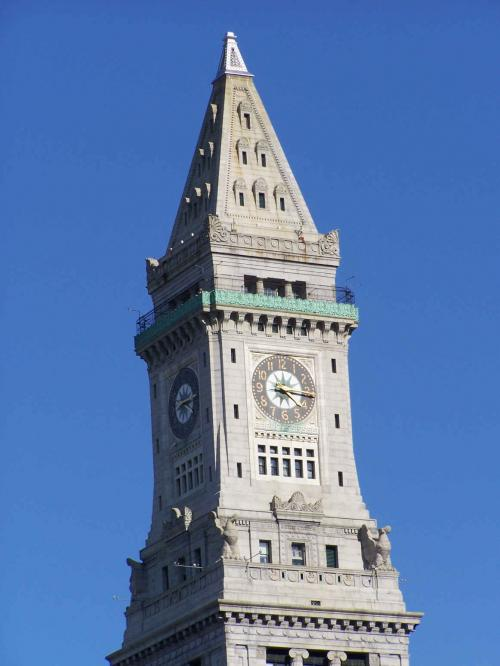 World Travel Photos :: USA - Massachusetts -  Boston :: Boston. Clock tower
