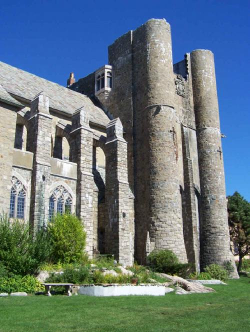 World Travel Photos :: USA - Massachusetts -  Boston :: Hammond Castle in Gloucester