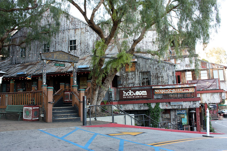 World Travel Photos :: Interesting unusual buildings :: Hollywood. House of Blues