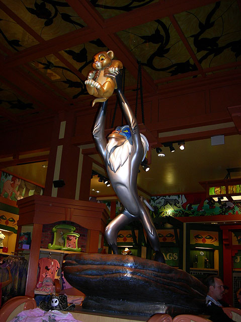 World Travel Photos :: Amusement & theme parks  :: Disneyland. Scene from Lion King