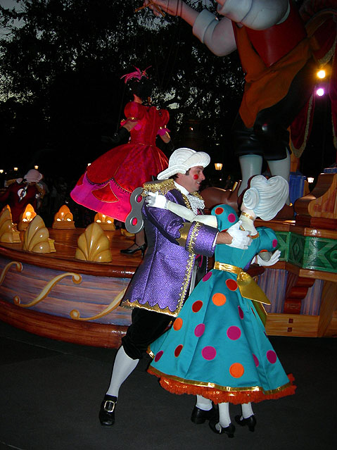 World Travel Photos :: Amusement & theme parks  :: Disneyland. Night Show