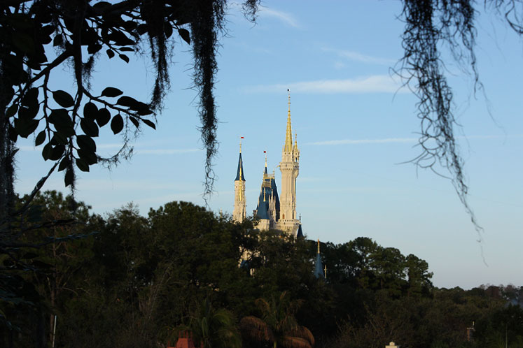 World Travel Photos :: Amusement & theme parks  :: Walt Disney World. Cinderella Castle