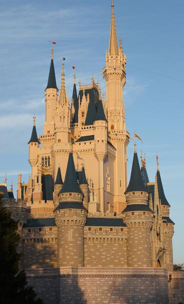 World Travel Photos :: The most famous buildings  :: Walt Disney World - Cinderella Castle
