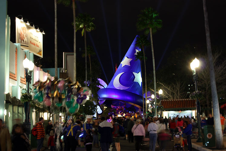 World Travel Photos :: Night views :: Walt Disney World. Disney´s Hollywood Studios