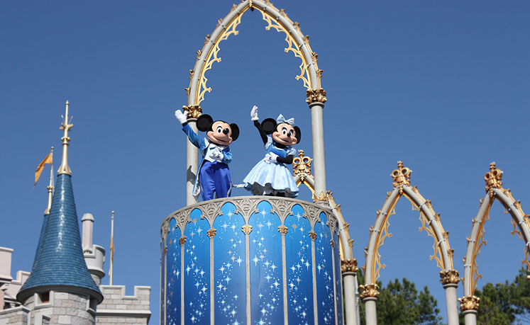 World Travel Photos :: Amusement & theme parks  :: Walt Disney World - Mickey Mouse & Minnie Mouse