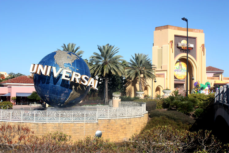 World Travel Photos :: Amusement & theme parks  :: Orlando. Universal Studios entrance