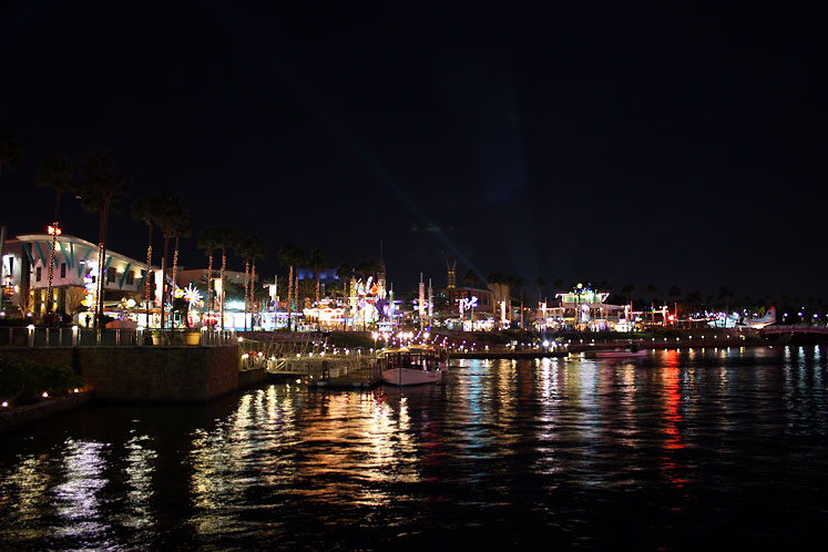 World Travel Photos :: Night views :: Orlando. A view from the Universal Studios