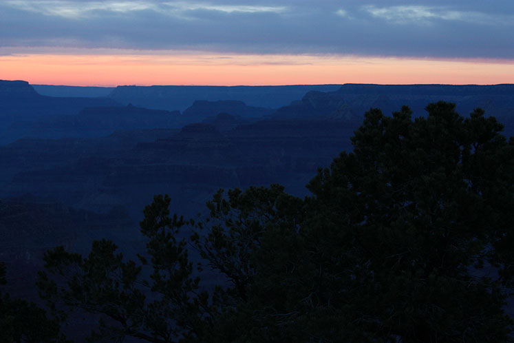 World Travel Photos :: Serenity :: A sunset in Grand Canyon