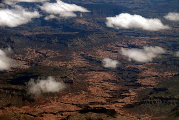 World Travel Photos :: Aerial views :: Arizona. A desert...