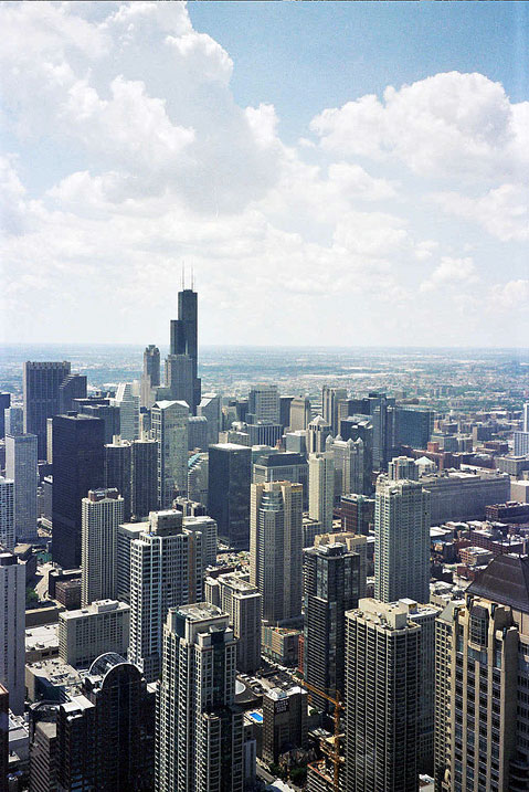 World Travel Photos :: USA - Misc :: Chicago. View on Downtown