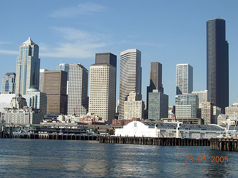 World Travel Photos :: USA - Misc :: Seattle. Commercial District