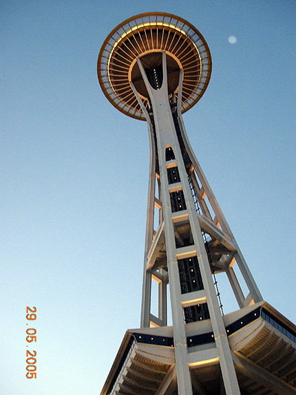 World Travel Photos :: USA - Misc :: Seattle. Space Needle