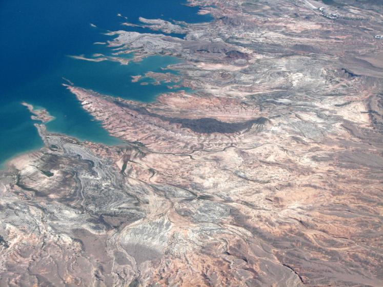 World Travel Photos :: Aerial views :: Shots from the plain on the way to Las Vegas