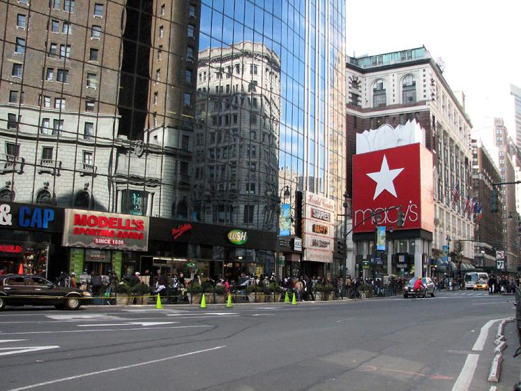 World Travel Photos :: USA - New York City :: New York. View on Macy´s Department Store