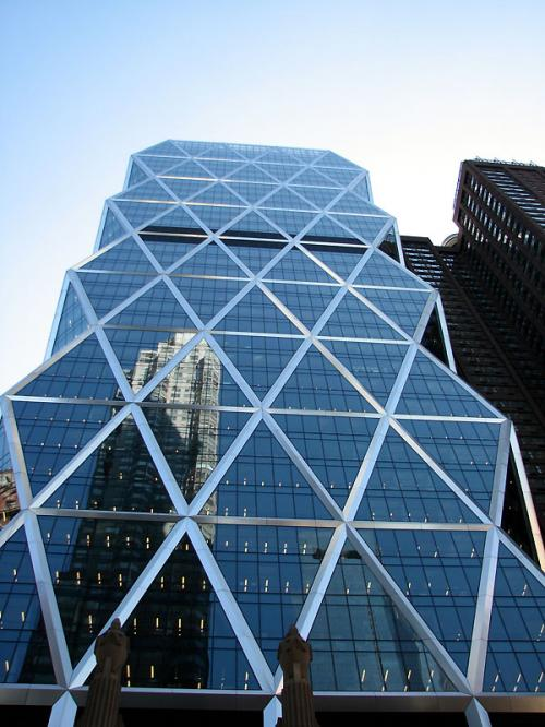World Travel Photos :: Interesting unusual buildings :: New York City. Reflections